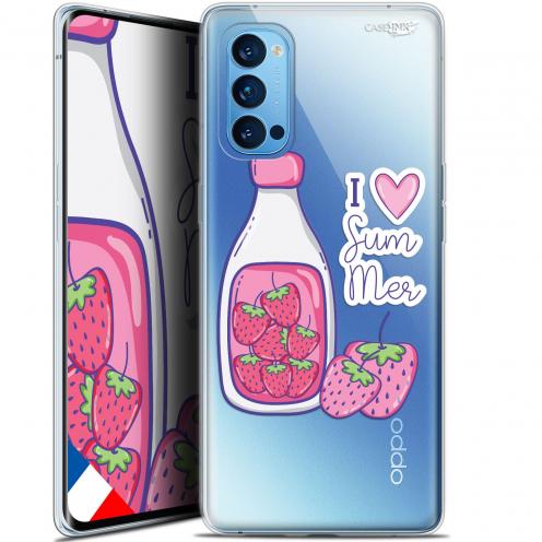 "Coque Gel Oppo Reno 4 Pro 5G (6.5"") Motif - Milky Summer"