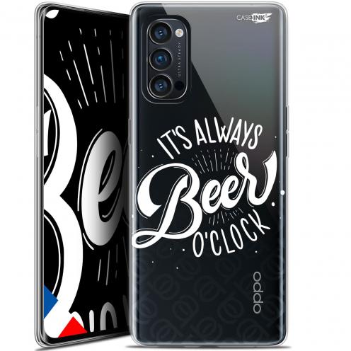 "Coque Gel Oppo Reno 4 Pro 5G (6.5"") Motif - Its Beer O'Clock"