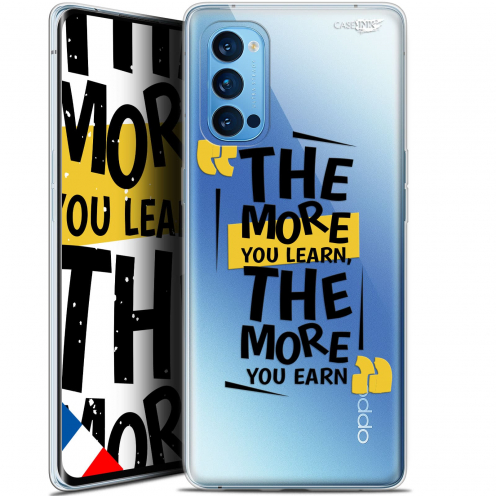 "Coque Gel Oppo Reno 4 Pro 5G (6.5"") Motif - The More You Learn"