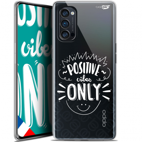"Coque Gel Oppo Reno 4 Pro 5G (6.5"") Motif - Positive Vibes Only"