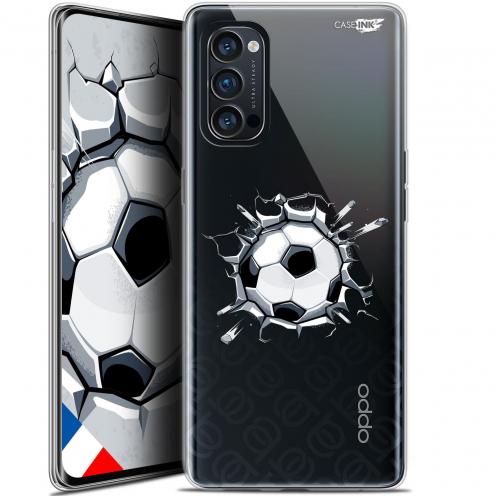 """Coque Gel Oppo Reno 4 Pro 5G (6.5"""") Motif - Le Balon de Foot"""