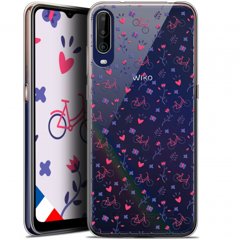 """Coque Gel Wiko View 4 (6.5"""") Love - Bicycle"""