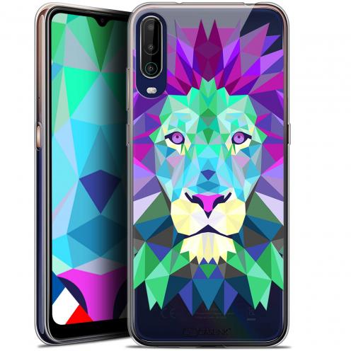 "Coque Gel Wiko View 4 (6.5"") Polygon Animals - Lion"