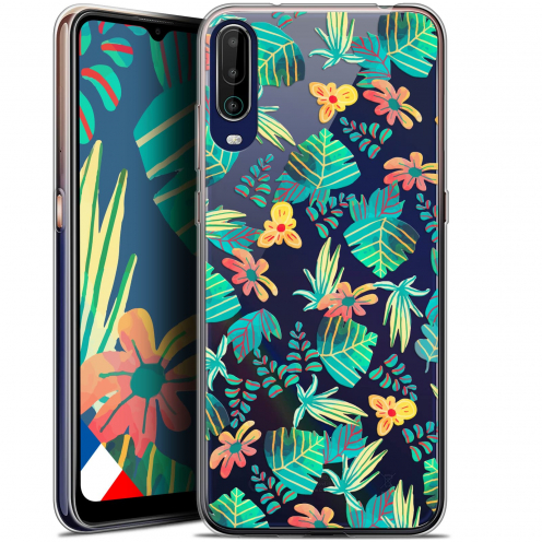 """Coque Gel Wiko View 4 (6.5"""") Spring - Tropical"""
