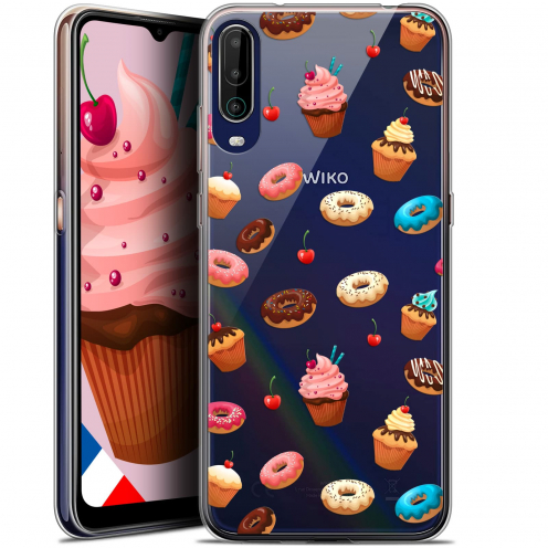 """Coque Gel Wiko View 4 (6.5"""") Foodie - Donuts"""