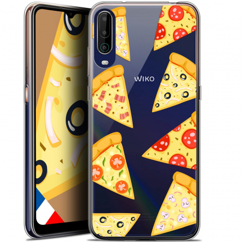 """Coque Gel Wiko View 4 (6.5"""") Foodie - Pizza"""