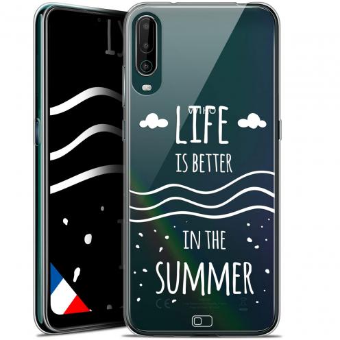 """Coque Gel Wiko View 4 (6.5"""") Summer - Life's Better"""