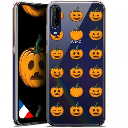 """Coque Gel Wiko View 4 (6.5"""") Halloween - Smiley Citrouille"""
