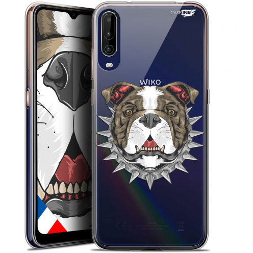 "Coque Gel Wiko View 4 (6.5"") Motif - Doggy"