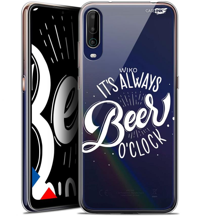 """Coque Gel Wiko View 4 (6.5"""") Motif - Its Beer O'Clock"""