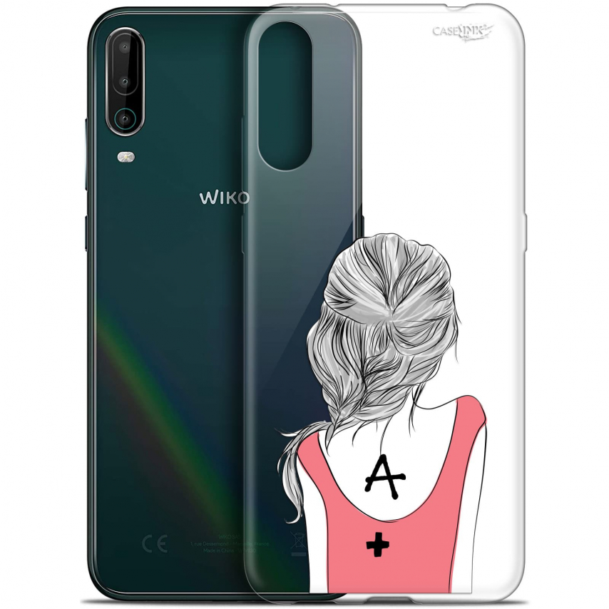 """Coque Gel Wiko View 4 (6.5"""") Motif - See You"""