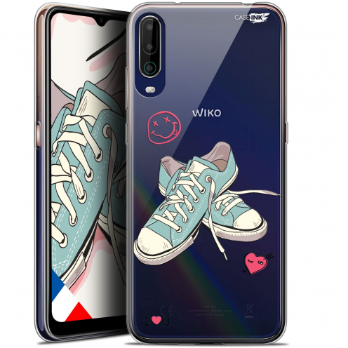 "Coque Gel Wiko View 4 (6.5"") Motif - Mes Sneakers d'Amour"