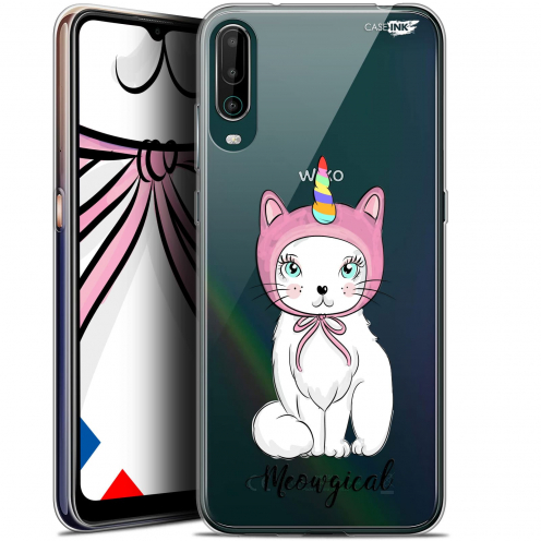 "Coque Gel Wiko View 4 (6.5"") Motif - Ce Chat Est MEOUgical"
