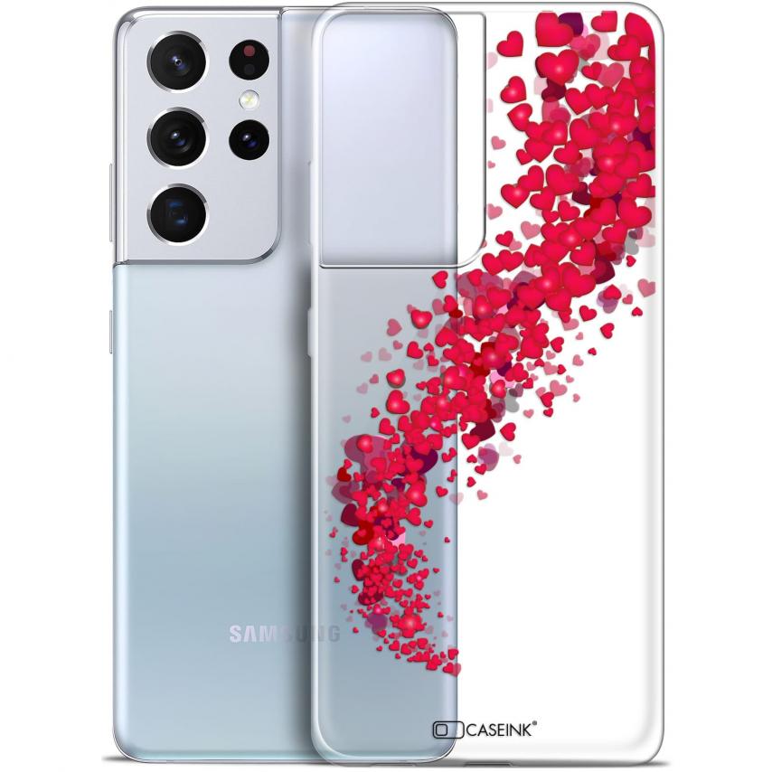 "Coque Gel Samsung Galaxy S21 Ultra (6.8"") Love - Tornado"