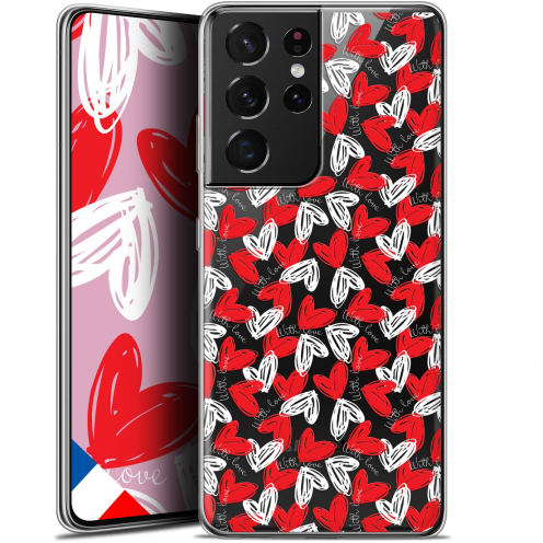 "Coque Gel Samsung Galaxy S21 Ultra (6.8"") Love - With Love"