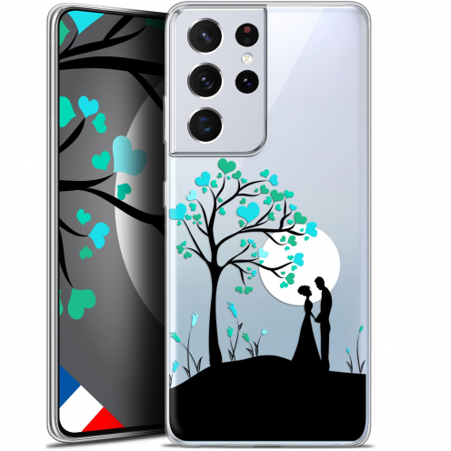 "Coque Gel Samsung Galaxy S21 Ultra (6.8"") Love - Sous l'arbre"