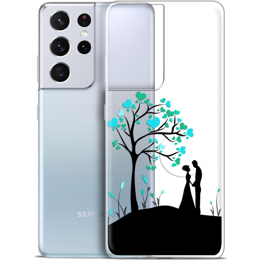 "Coque Gel Samsung Galaxy S21 Ultra (6.8"") Love - Sous l'arbre"