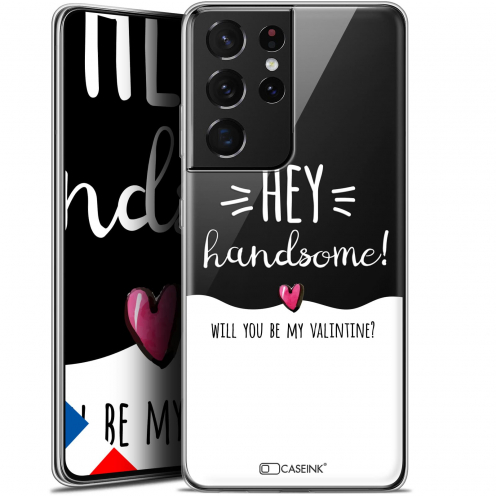 "Coque Gel Samsung Galaxy S21 Ultra (6.8"") Love - Hey Handsome !"