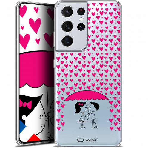 "Coque Gel Samsung Galaxy S21 Ultra (6.8"") Love - Pluie d'Amour"