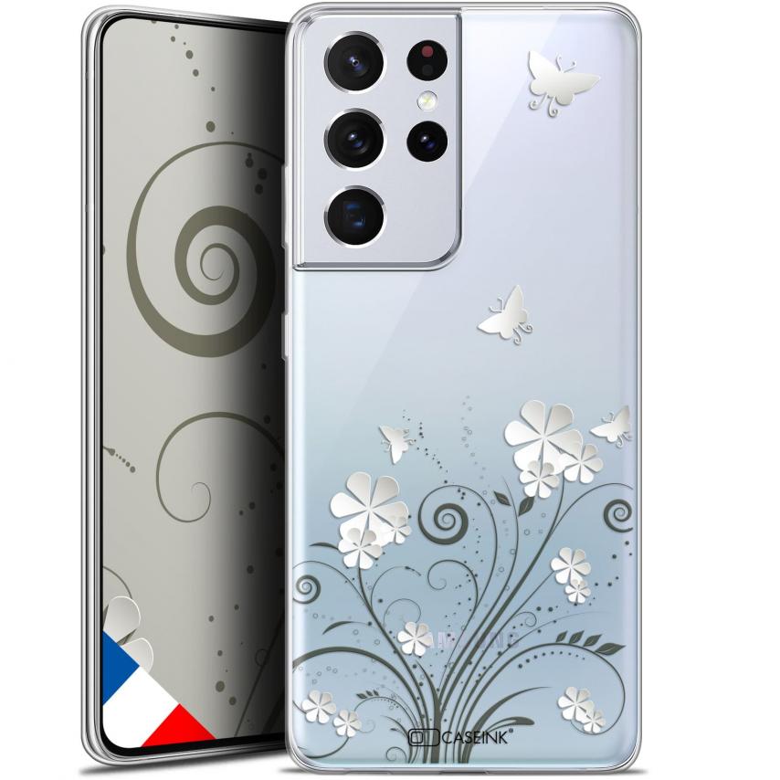 """Coque Gel Samsung Galaxy S21 Ultra (6.8"""") Summer - Papillons"""