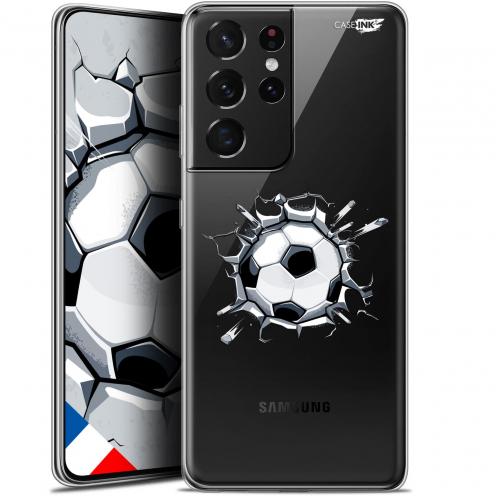 """Coque Gel Samsung Galaxy S21 Ultra (6.8"""") Motif - Le Balon de Foot"""