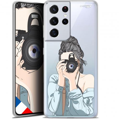 "Coque Gel Samsung Galaxy S21 Ultra (6.8"") Motif - La Photographe"
