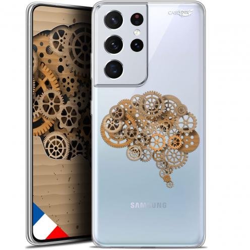 """Coque Gel Samsung Galaxy S21 Ultra (6.8"""") Motif - Mécanismes du Cerveau"""