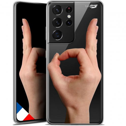"Coque Gel Samsung Galaxy S21 Ultra (6.8"") Motif - Le Jeu du Rond"