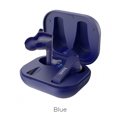 Hoco® ES34 Pleasure TWS Ecouteurs Bluetooth Bleu