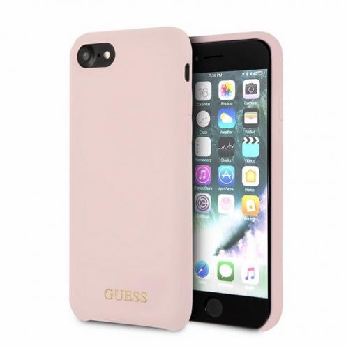 Coque Guess® GUHCPXLSLMGLP iPhone X/Xs light Rose
