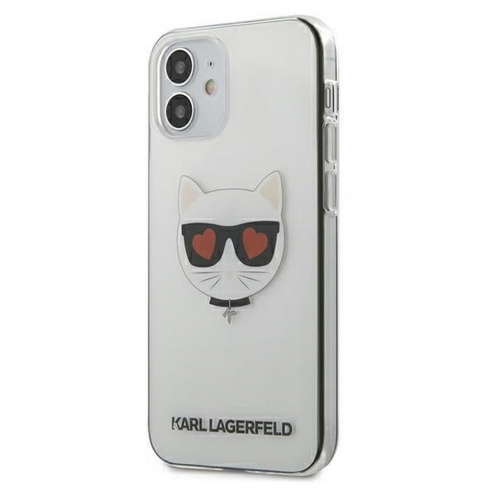 Coque Karl Lagerfeld® KLHCP12SCLTR iPhone 12 MINI transparent