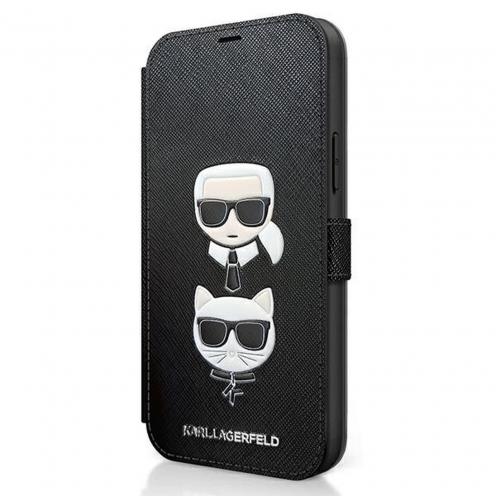 Coque Karl Lagerfeld® KLFLBKP12MSAKICKCBK iPhone 12 Pro Noir