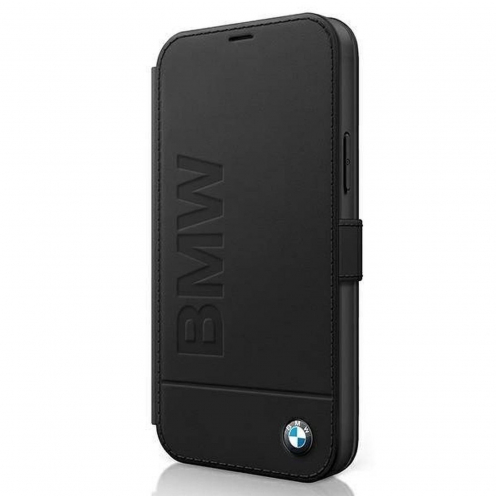 Coque BMW® BMFLBKP12LSLLBK iPhone 12 Pro Max Noir