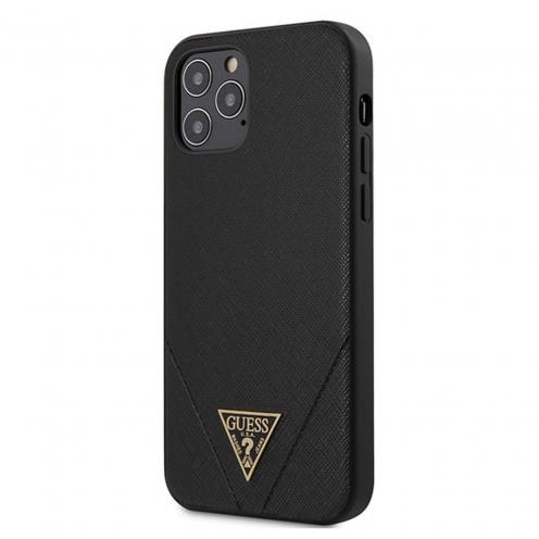 Coque Guess® GUHCP12LVSATMLBK iPhone 12 PRO MAX Noir