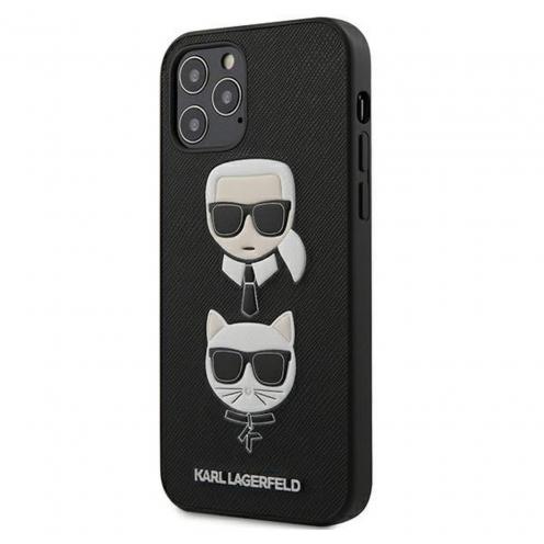 Coque Karl Lagerfeld® KLHCP12MSAKICKCBK iPhone 12 / 12 PRO Noir