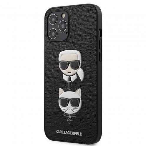Coque Karl Lagerfeld® KLHCP12LSAKICKCBK iPhone 12 PRO MAX Noir