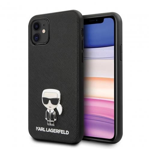 Coque Karl Lagerfeld® KLHCP12SIKMSBK iPhone 12 MINI Noir