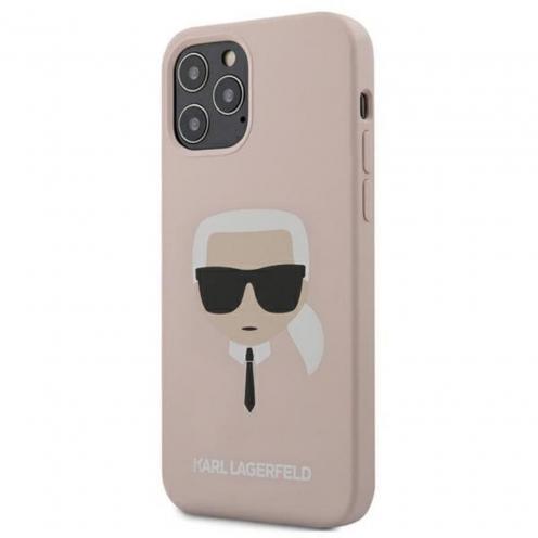 Coque Karl Lagerfeld® KLHCP12MSLKHLP iPhone 12 / 12 PRO Rose