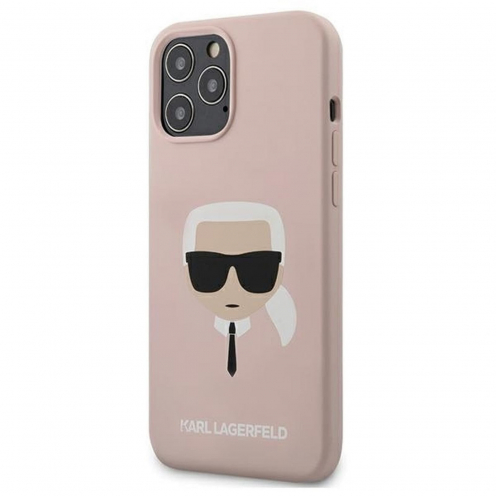 Coque Karl Lagerfeld® KLHCP12LSLKHLP iPhone 12 PRO MAX Rose
