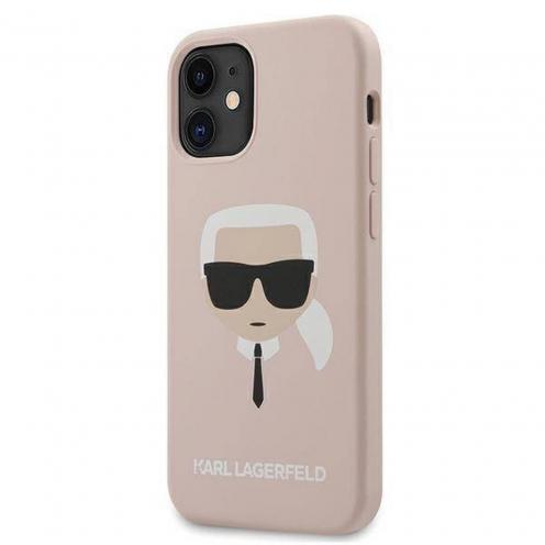 Coque Karl Lagerfeld® KLHCP12SSLKHLP iPhone 12 MINI Rose