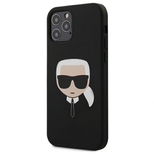 Coque Karl Lagerfeld® KLHCP12MSLKHBK iPhone 12 / 12 PRO Noir