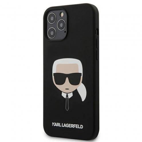 Coque Karl Lagerfeld® KLHCP12LSLKHBK iPhone 12 PRO MAX Noir