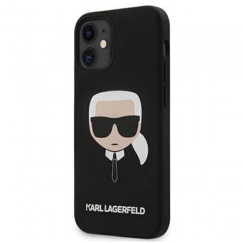 Coque Karl Lagerfeld® KLHCP12SSLKHBK iPhone 12 MINI Noir