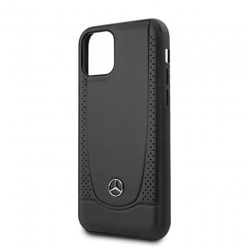 Coque Mercedes® MEHCP12SARMBK iPhone 12 MINI Noir