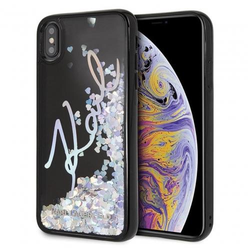 Coque Karl Lagerfeld® KLHCI65KSIGMU iPhone XS Max transparent