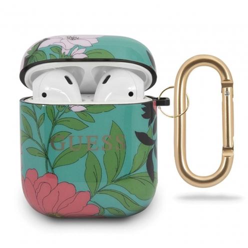 Coque Guess® GUACA2TPUBKFL01 Apple Airpods Flower