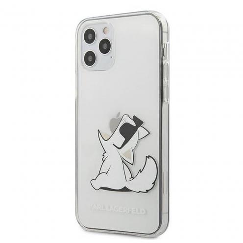 Coque Karl Lagerfeld® KLHCP12LCFNRC iPhone 12 PRO MAX transparent