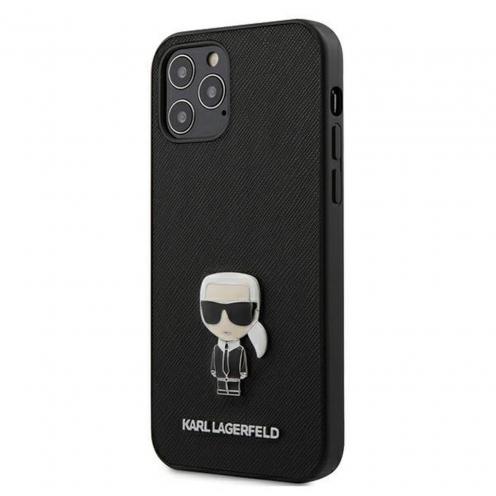 Coque Karl Lagerfeld® KLHCP12LIKMSBK iPhone 12 PRO MAX Noir