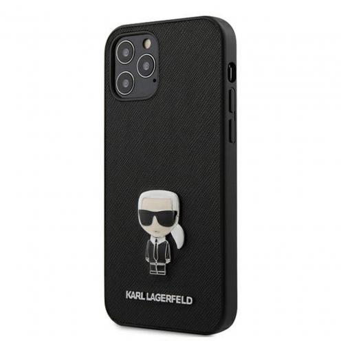 Coque Karl Lagerfeld® KLHCP12MIKMSBK iPhone 12 / 12 PRO Noir