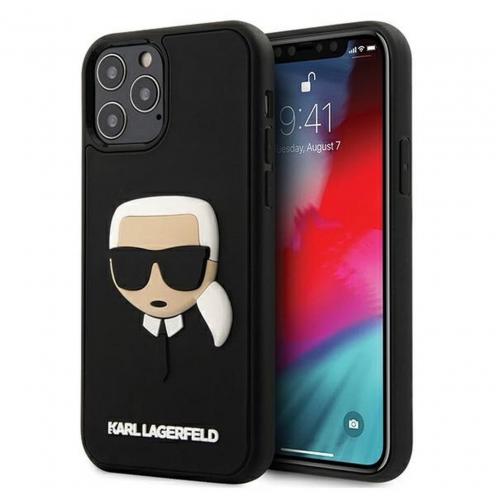 Coque Karl Lagerfeld® KLHCP12MKH3DBK iPhone 12 / 12 PRO Noir